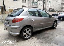 Peugeot 206 2001 For sale - Silver color