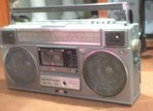 مسجل مع راديو جي في سي نادر