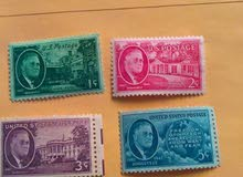 طوابع امريكية مميزه