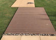 ارضيات خشبية خارجية لأحواض السباحة وألحدائق و أسطح المنازل