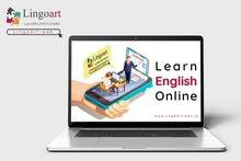 خليك بامان و #تعلم_اللغة_الانجليزية من منزلك مع لنغو آرت Online