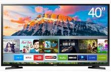 شاشه سامسونج سمارت  جديد بالكرتون Full HD.SMART 40 inch