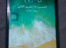 أيفون 7 مع كرتونه وشحن الأصلي استعمال 3 شهور