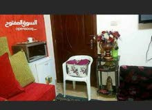 ستديو مفروش غرفة وحمام وممر للايجار طريق المطار شارع الخلاطات