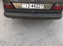Manual Mercedes Benz E 200 1988