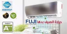 مكيفات 2019 Fuji فل أنفرتر +++A بارد +++A حامي وبأقل الأسعار تركيب خلال ساعه