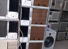 للبيع جميع أنواع المكيفات الشباك مستعمله مع التوصيل والتركيب