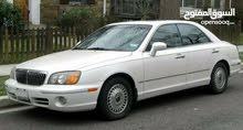 هونداي قراندي 2002  اللون ابيض استيراد كوري سياره عيب لا ماشية 85 الف تبل كمبيو