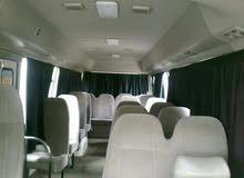 باصات حديثة ومكيفة للأيجار لتوصيل الموظفين شركات رحلات
