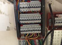 معلم كهربائي ورش صيانه مشاريع ع استعداد تام0797372070