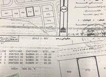 أرضين للبيع في العامرات مدينة النهضة مربع 14