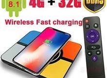 tv box 4g ram / 32g rom wireless charging