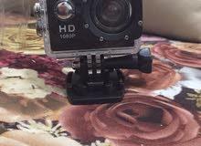 كاميرا تقليد جو برو ما استخدمتها ولا مره , ضد الماء جديييييييده
