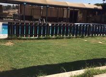 مزرعة فاخرة للايجار في جرش موقع مميز