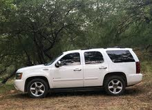 White Chevrolet Tahoe 2007 for sale