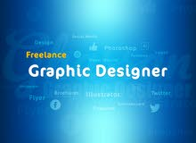 مصمم فري لانس Freelance Graphic Designer