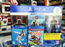 PS4 500gb slim +5 games +3 months membership plus