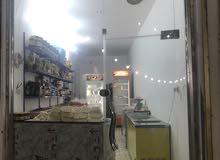 واجهة محل جام للبيع عرض 2 متر ونص ارتفاع 4 امتار .