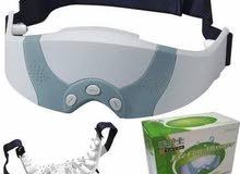 نظارة المساچ و التدليك المتطورة لنضارة وإزالة إجهاد العيون Eye care Massager