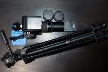 فرصة رائعة كاميرا كانون 700دي بجميع متعلقاتها وزيادة كمان