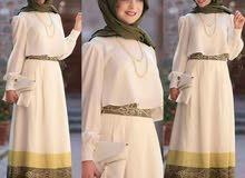 فستان تركي عبارة عن جيب وبلوزة
