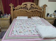 سرير مع فرشة للبيع