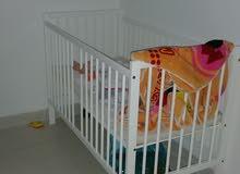 سرير أطفال رضيع رضع Baby bed with matrice