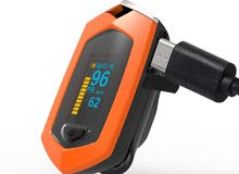 pulse oximeterجهاز فحص نبض القلب واشباع الاكسجين ويتم شحنه