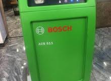 ماكينة تعبئة غاز مكيفات السياراتBOSCH واجهزة فحص السيارات من تشك كار