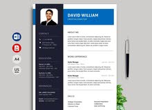 "Curriculum Vitae ""CV"" تصميم سيرة ذاتية"