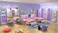 غرف نوم سنجل ودبل اطفال