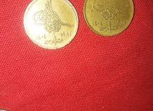 عمله قديم بها  خطا في التاريخ وعملات مصريه قديمه