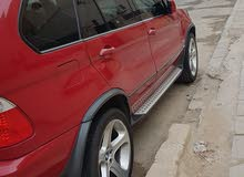 Red BMW X5 2003 for sale