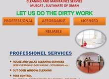 we clean cleaning and maintenance services