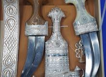 خنجر سعيدي مع نصلتين عمانيات