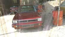 سيارة سيفيك سنة 1982 بحالة جيدة للبيع