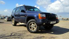 Automatic Blue Jeep 1995 for sale