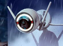 كاميرات خارجية تعمل على الواى فاى بدون تمديد الموديل C3W معه التركيب