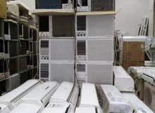 للبيع جميع أنواع المكيفات الشباك مع التركيب حار بارد
