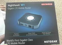 راوتر نت جير LTE/  4G /  M1 مفتوح على كل الشبكات