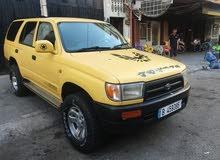 Toyota 4ranner 4×4 3al model 1999 bas ma3moul 2000 ktir ndif 2albou bedou tertib