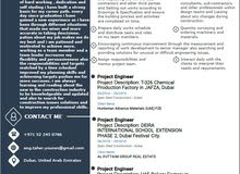Experienced civil engineer looking for a job.