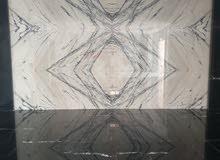 Magic corner marble and ceramic