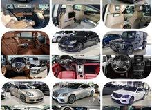 للبيع جميع انواع السيارات 2016،17 18،19