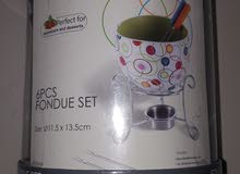 Fondue Set For Appetizers And Desserts