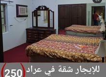 للايجار شقة 2 غرفة مفروشة وشاملة