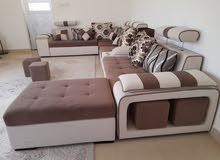 U shape sofa كنبه كبيره شكل