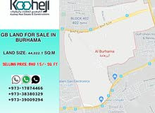 GB LAND CATEGORY FOR SALE IN BURHAMA