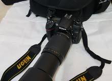 Nikon D7000 professional Camra -  70-300mm zooming Lens  Nikon original Bag   AL