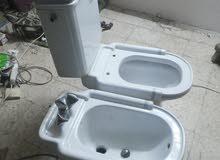 طقم حمام غير مستعمل كثير